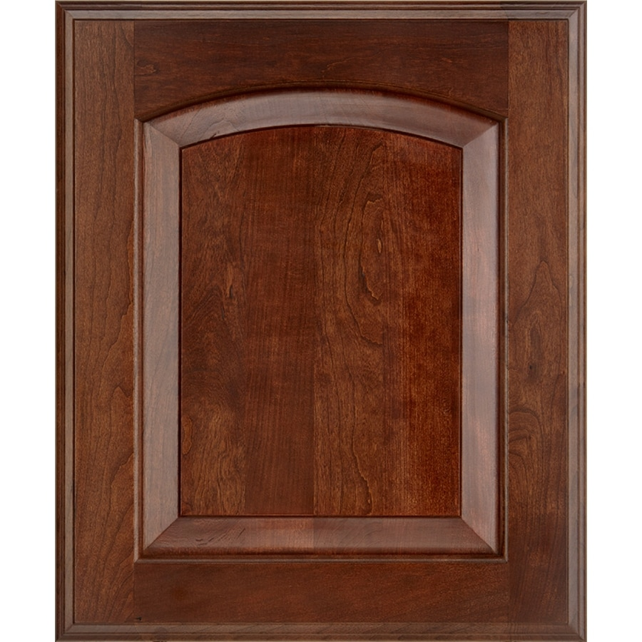 Schuler Cabinetry Pacifica 17.5-in x 14.5-in Brandywine Cherry Arch Cabinet Sample