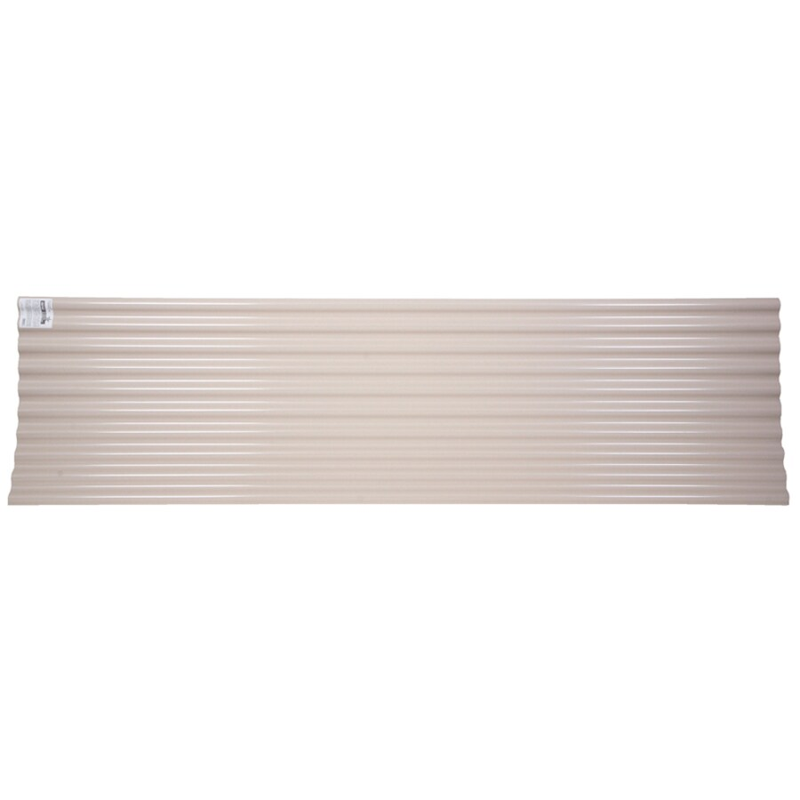 Tuftex SeaCoaster 2.17-ft x 12-ft Corrugated PVC Roof Panel
