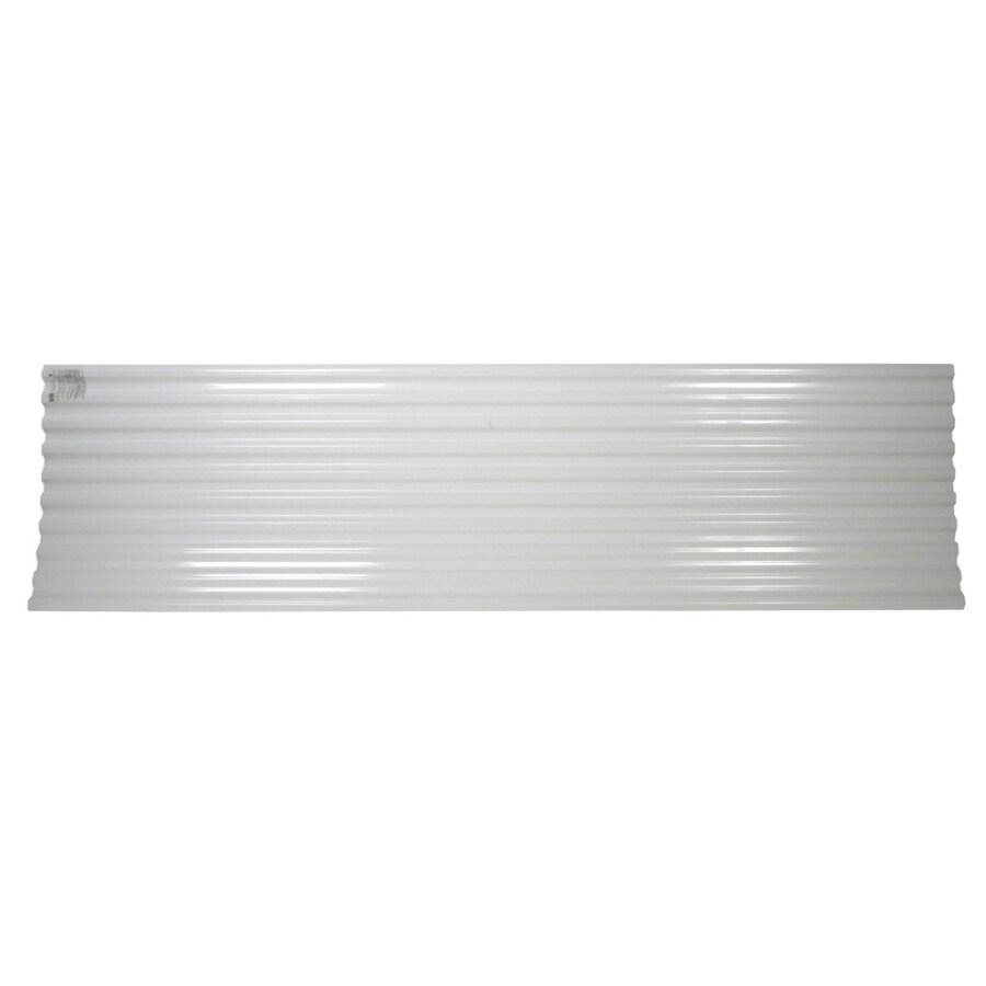 Tuftex DeckDrain Opaque White Under Deck Ceiling Panel (Actual: 120-in)