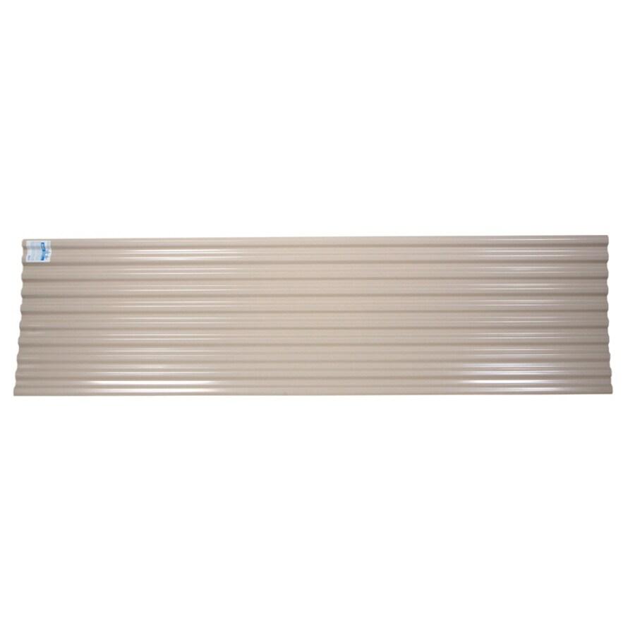 Tuftex DeckDrain Opaque Tan Under Deck Ceiling Panel (Actual: 120-in)