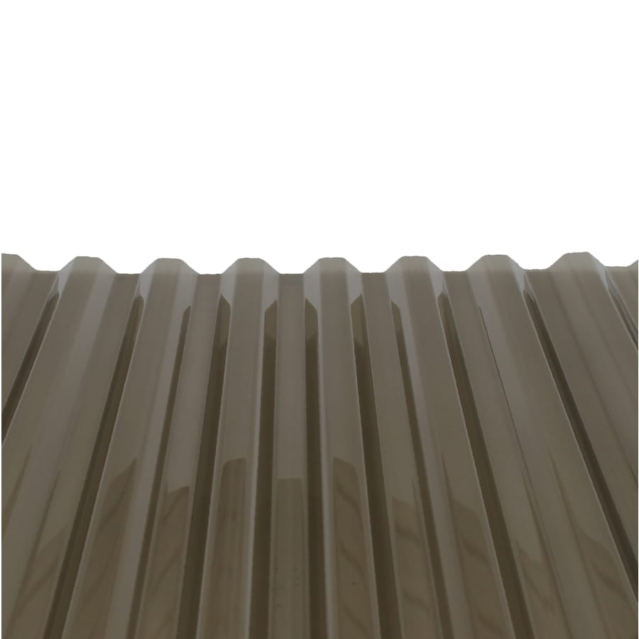 Tuftex Polycarb 2.17-ft x 12-ft Corrugated Polycarbonate Roof Panel