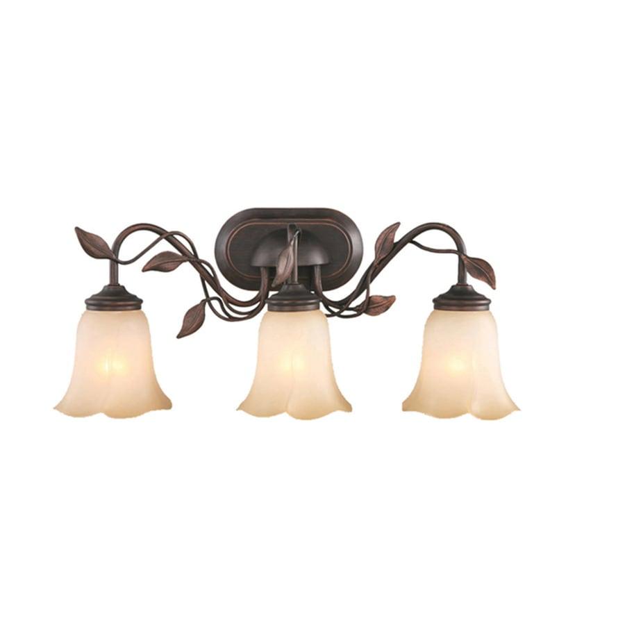 allen + roth 3-Light Eastview Dark Oil-Rubbed Bronze Bathroom Vanity Light