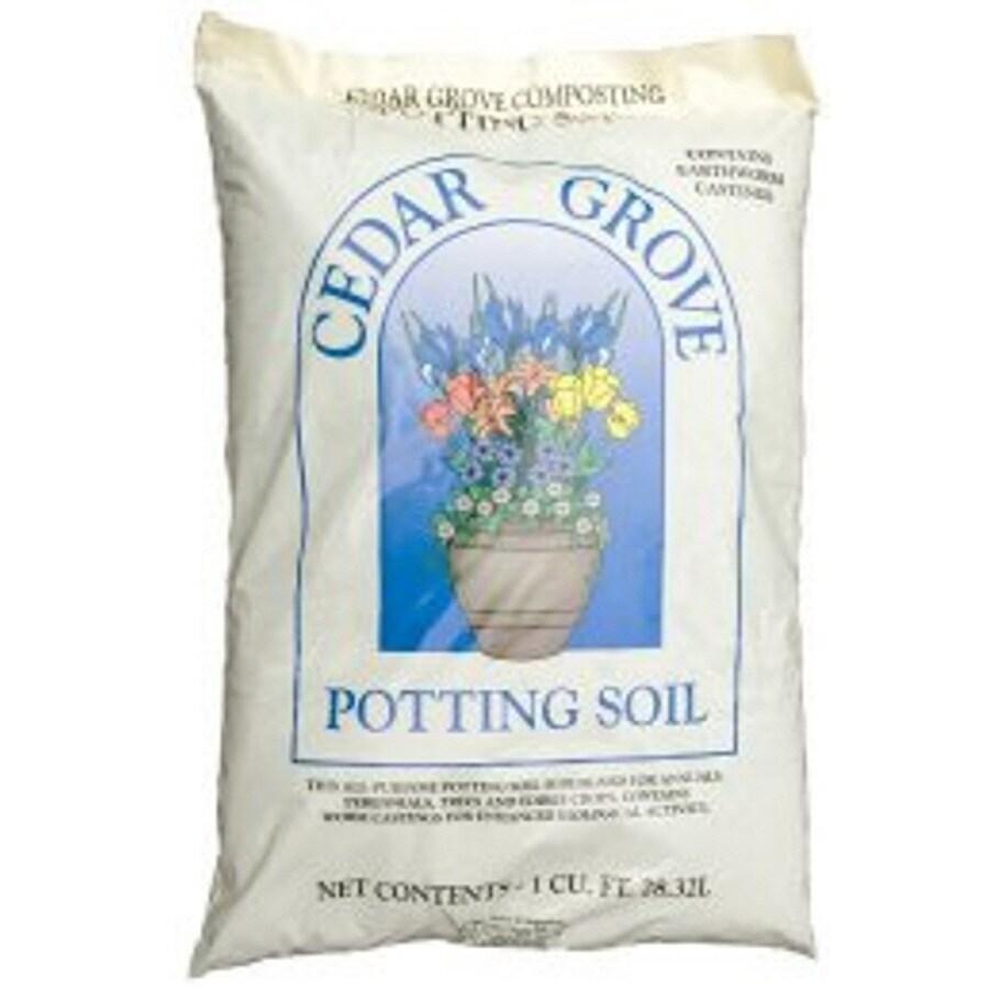 1-cu ft Organic Potting Soil