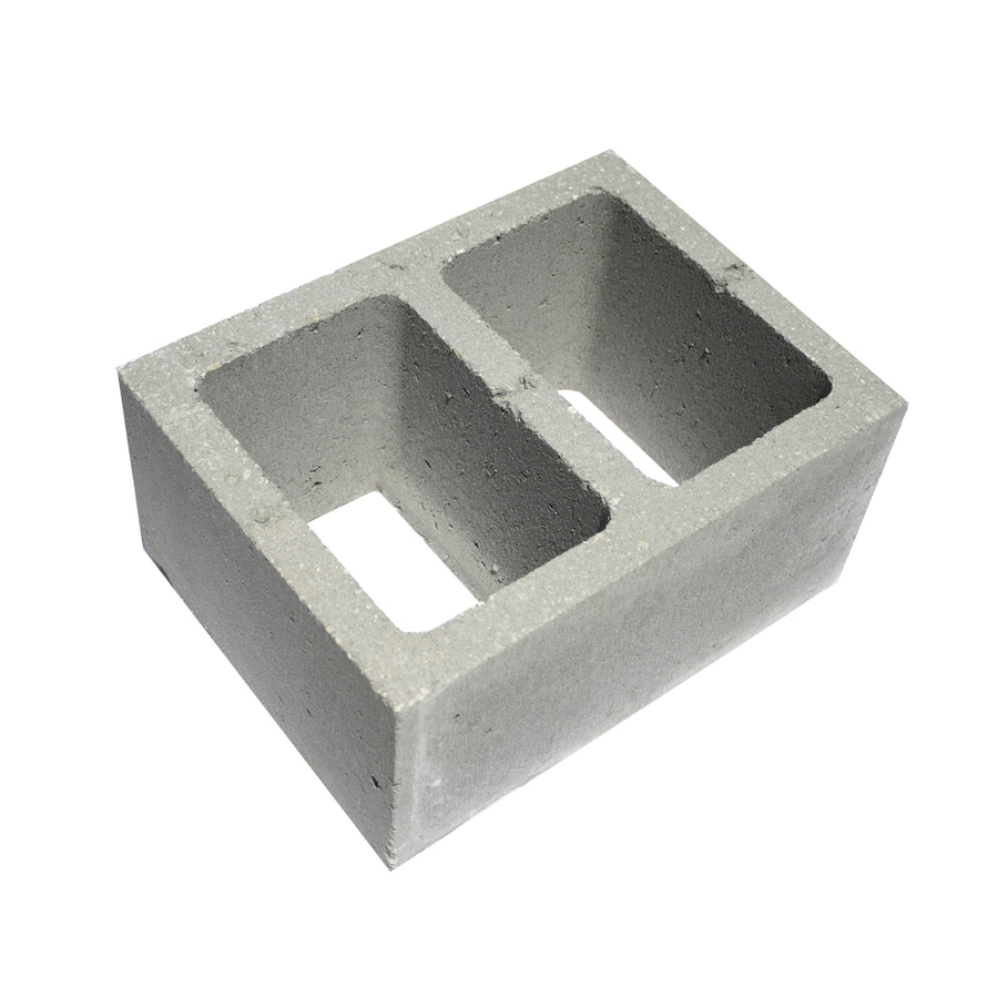 Normal Weight Concrete Block (Common: 12-in x 8-in x 16-in; Actual: 11.625-in x 7.625-in x 15.625-in)