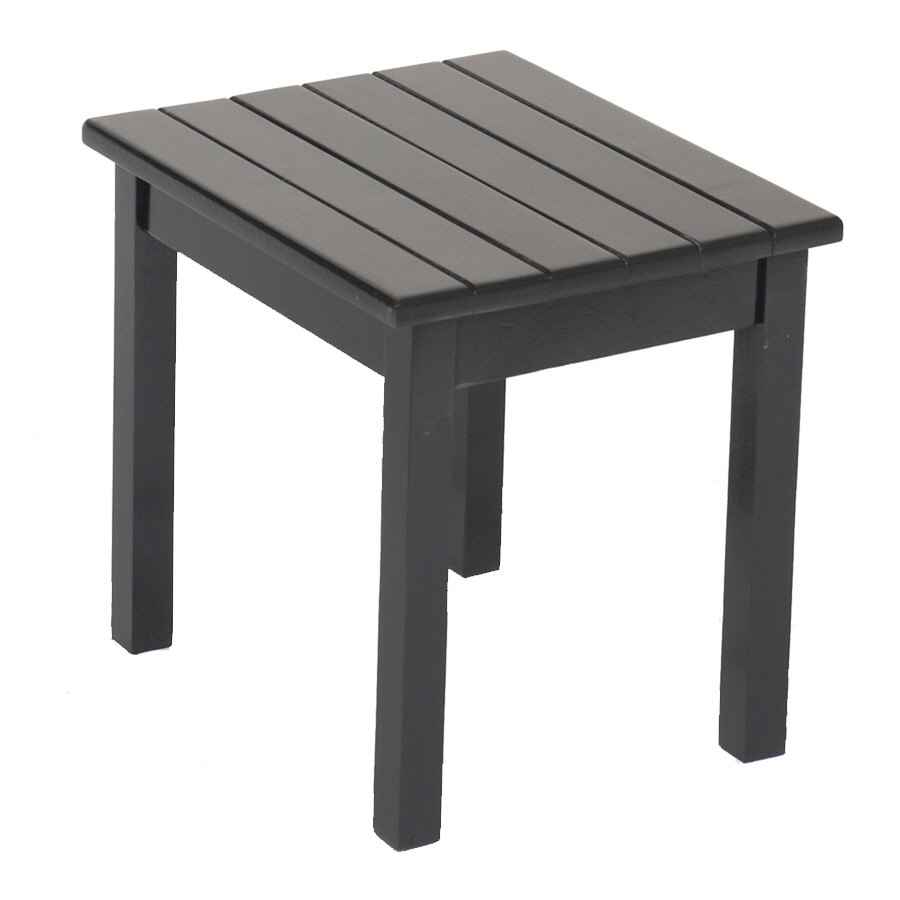 Black rectangle patio table rectangular outdoor table for Black patio table