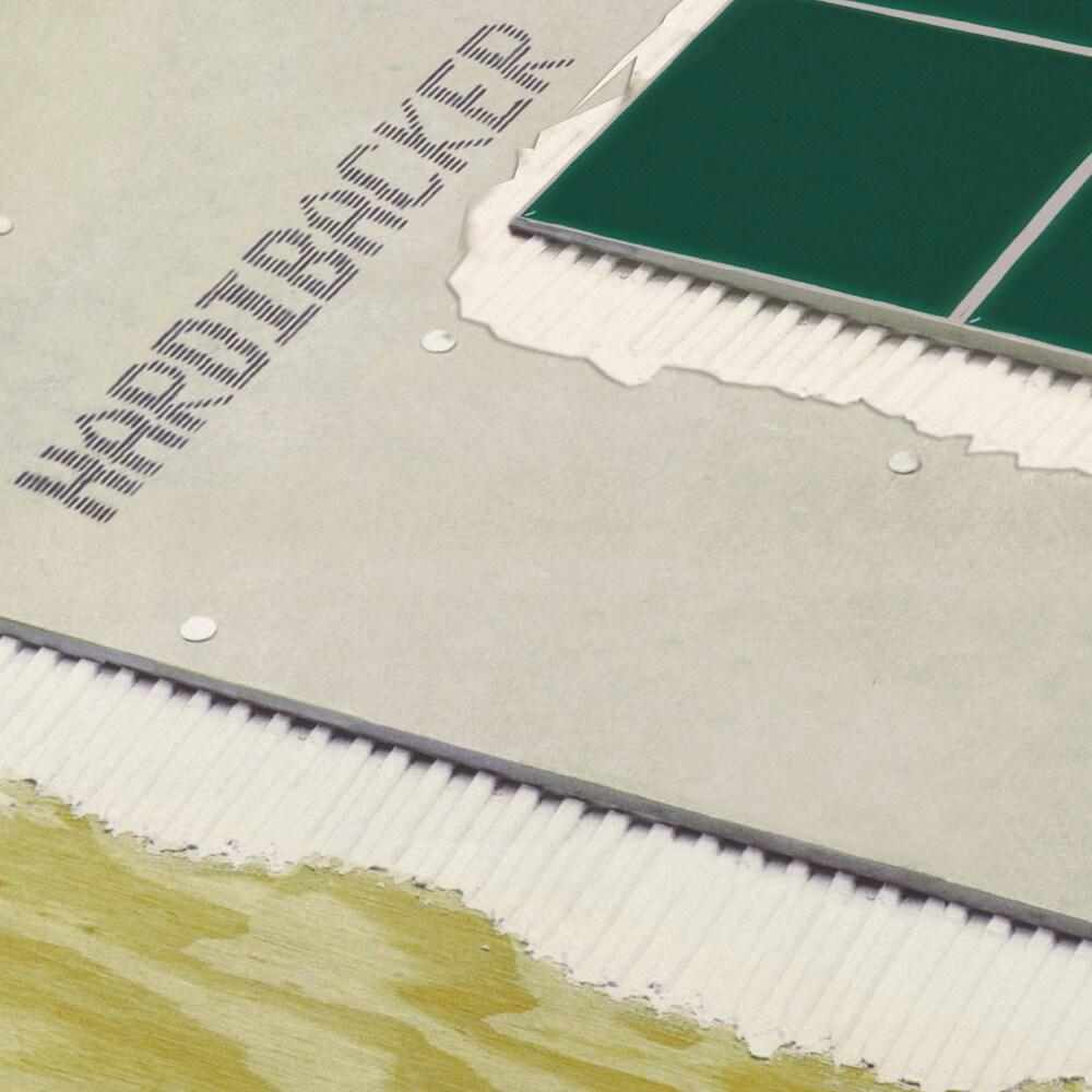 "Hardibacker® 3' x 5' x 1/4"" Ceramic Tile Backerboard"