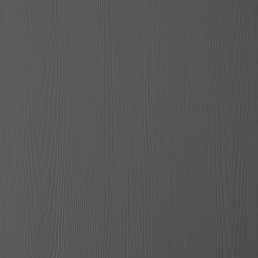 James Hardie HardiePanel Primed Iron Gray Cedarmill Vertical Fiber Cement Siding Panel (Actual: 0.312-in x 48-in x 96-in)