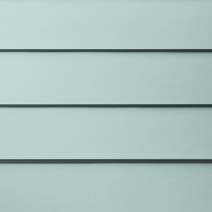 James Hardie Primed Aqua Marine Fiber Cement Siding Panel (Actual: 0.312-in x 8.25-in x 144-in)
