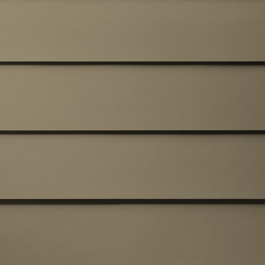James Hardie Primed Woodstock Brown Fiber Cement Siding Panel (Actual: 0.312-in x 6.25-in x 144-in)