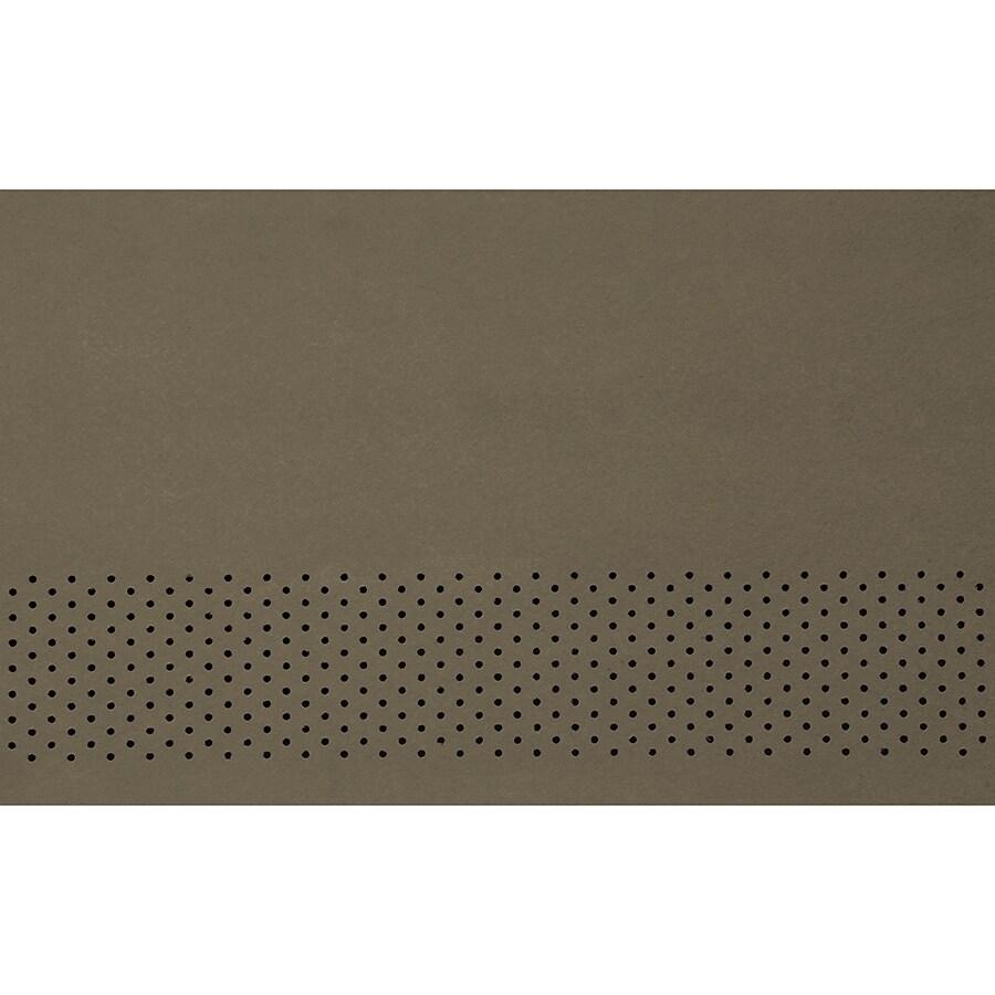James Hardie HardieSoffit 24-in x 96-in Timber Bark Fiber Cement Vented Soffit