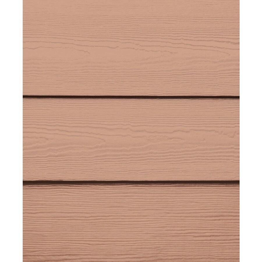 James Hardie Primed Terra Cotta Fiber Cement Siding Panel (Actual: 0.312-in x 6.25-in x 144-in)