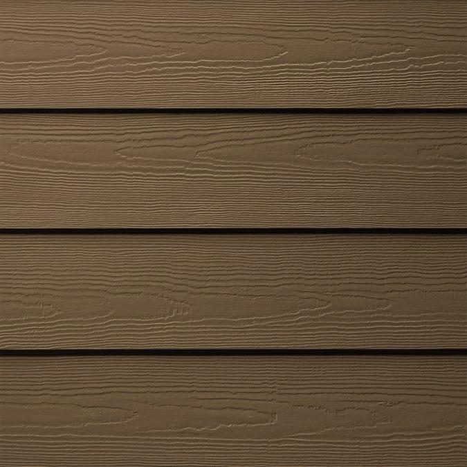 James Hardie 6 25 In X 144 In Colorplus Hz5 Hardieplank Chestnut Brown Cedarmill Lap Siding At