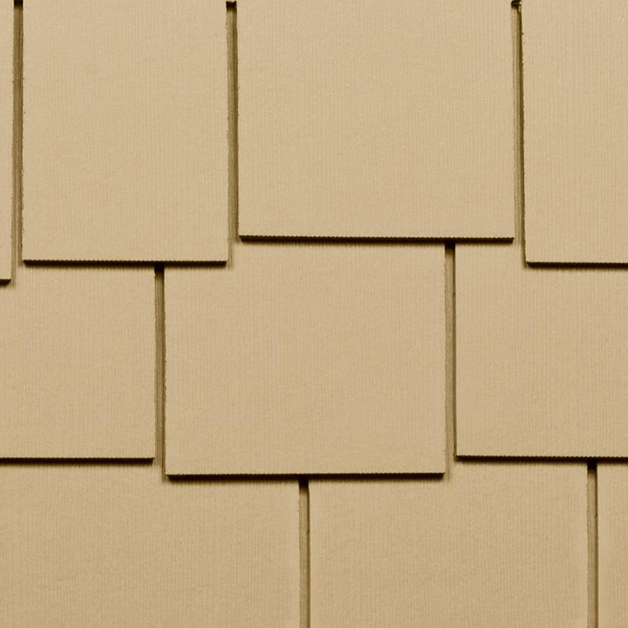 James Hardie HardieShingle 15.25-in x 48-in Primed Woodgrain Fiber Cement Shingle Siding