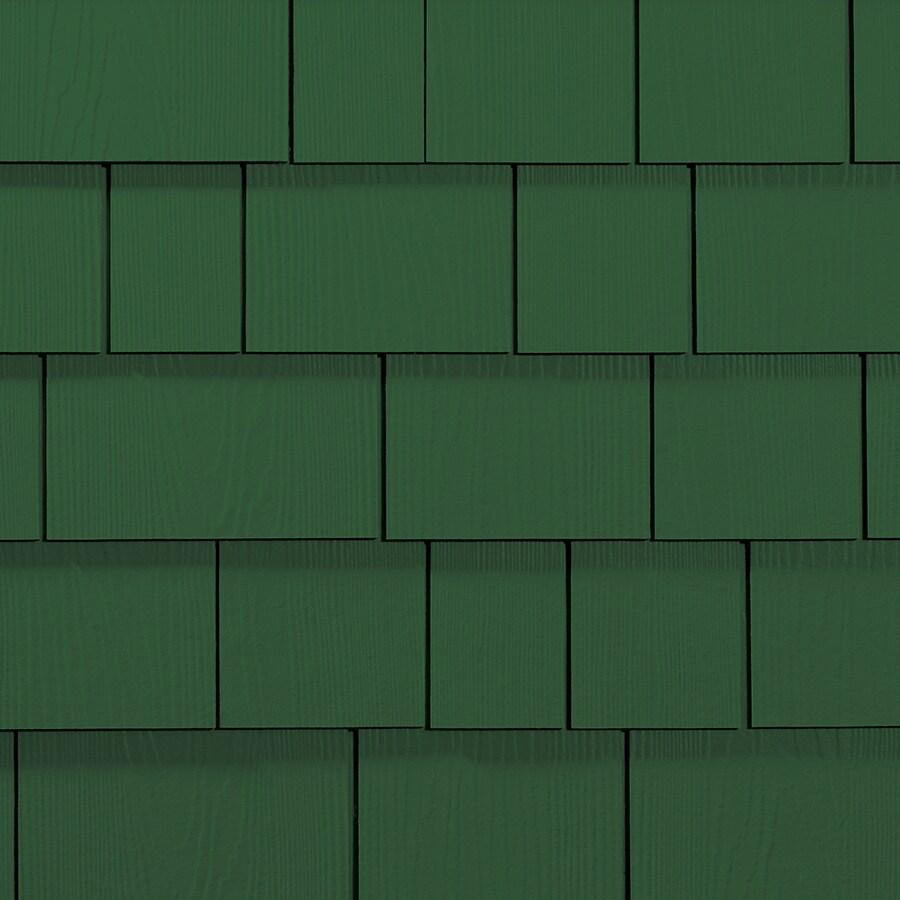 James Hardie Hardieshingle 15.25-in x 6.738-in Primed Parkside Pine Woodgrain Fiber Cement Shingle Siding