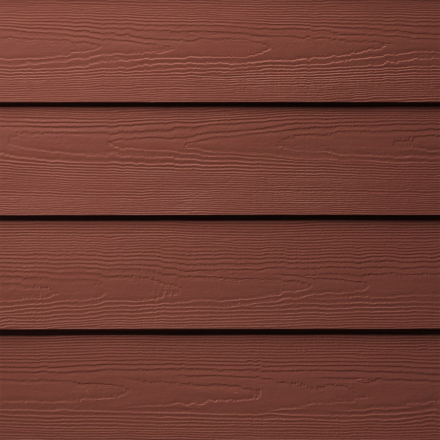 James Hardie HardiePlank Primed Traditional Red Cedarmill Lap Fiber Cement Siding Panel (Actual: 0.312-in x 8.25-in x 144-in)