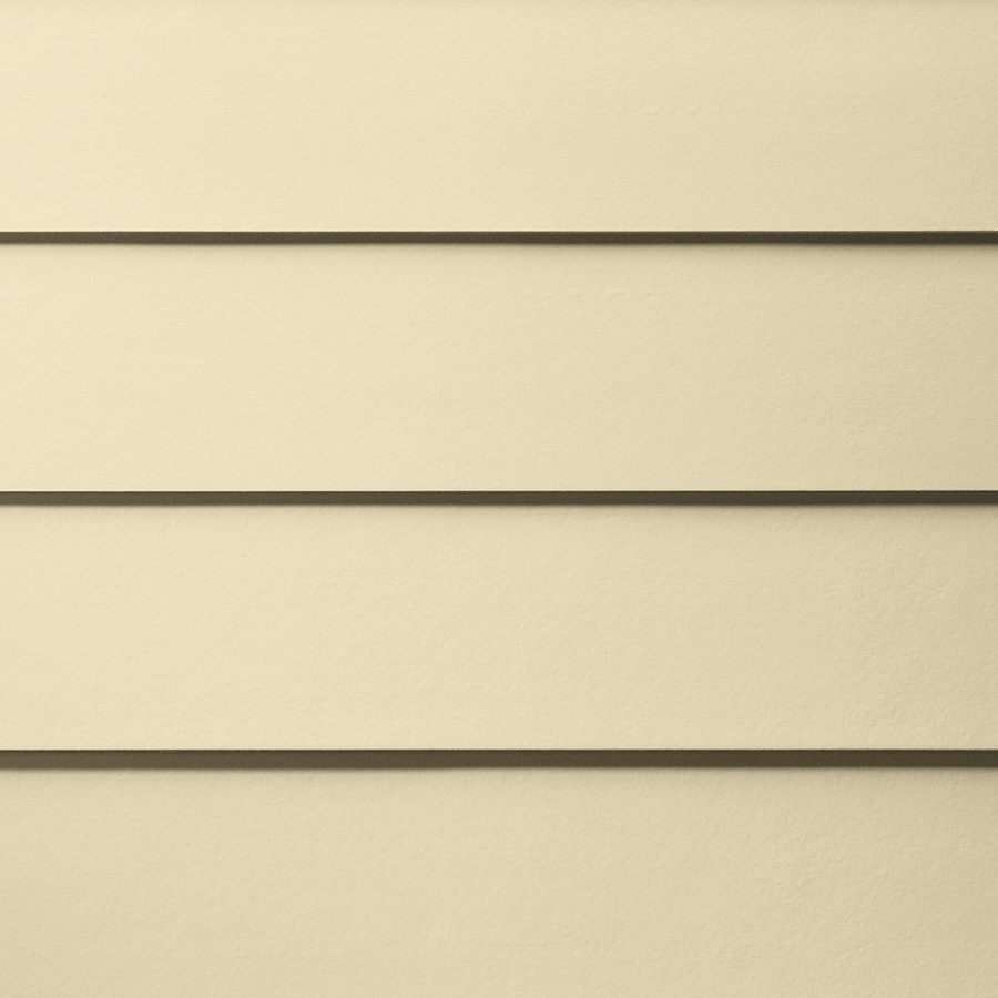 James Hardie HardiePlank Primed Sail Cloth Smooth Lap Fiber Cement Siding Panel (Actual: 0.312-in x 5.25-in x 144-in)