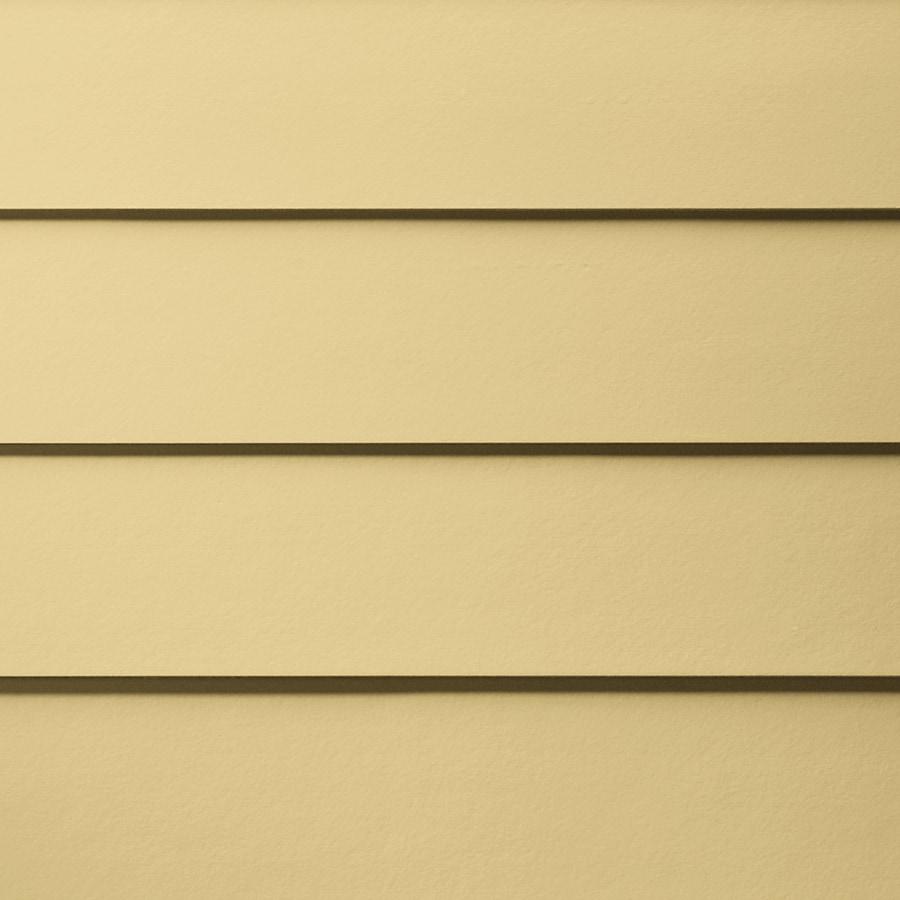 James Hardie HardiePlank Primed Harris Cream Smooth Lap Fiber Cement Siding Panel (Actual: 0.312-in x 5.25-in x 144-in)