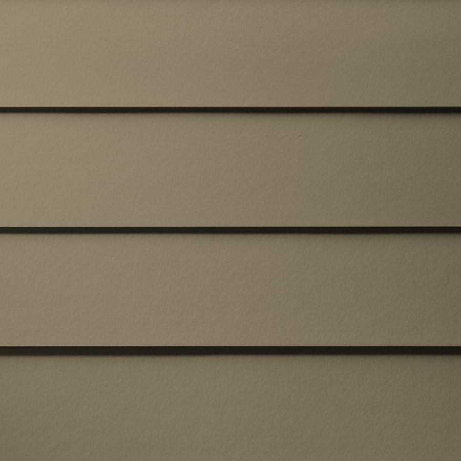 James Hardie HardiePlank Primed Woodstock Brown Smooth Lap Fiber Cement Siding Panel (Actual: 0.312-in x 8.25-in x 144-in)