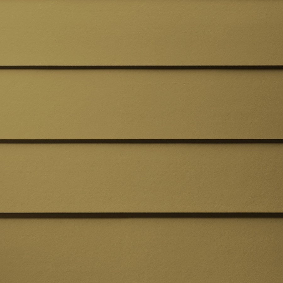 James Hardie HardiePlank Primed Tuscan Gold Smooth Lap Fiber Cement Siding Panel (Actual: 0.312-in x 8.25-in x 144-in)