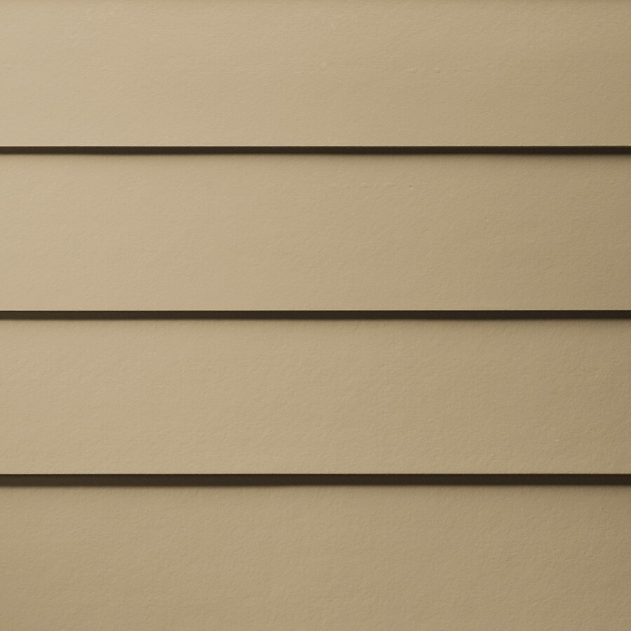James Hardie Primed Autumn Tan Fiber Cement Siding Panel (Actual: 0.312-in x 7.25-in x 144-in)