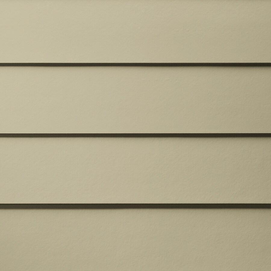 James Hardie HardiePlank Primed Sandstone Beige Smooth Lap Fiber Cement Siding Panel (Actual: 0.312-in x 6.25-in x 144-in)