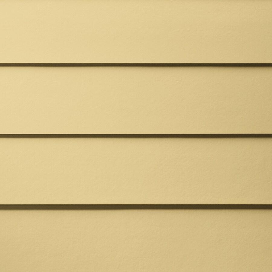 James Hardie Primed Harris Cream Fiber Cement Siding Panel (Actual: 0.312-in x 6.25-in x 144-in)