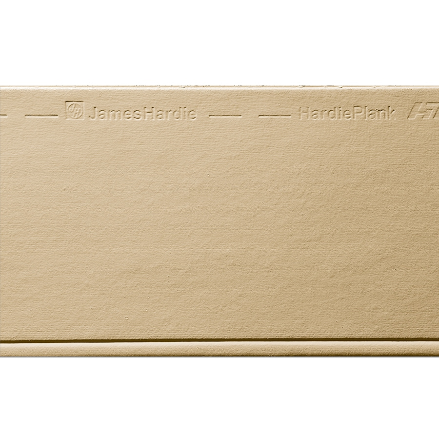 James Hardie HardiePlank Primed Autumn Tan Beaded Smooth Lap Fiber Cement Siding Panel (Actual: 0.312-in x 8.25-in x 144-in)