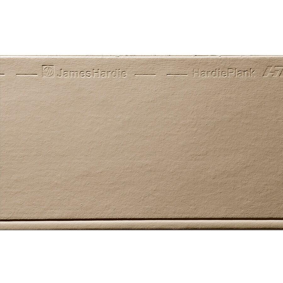 James Hardie Primed Khaki Brown Fiber Cement Siding Panel (Actual: 0.312-in x 8.25-in x 144-in)