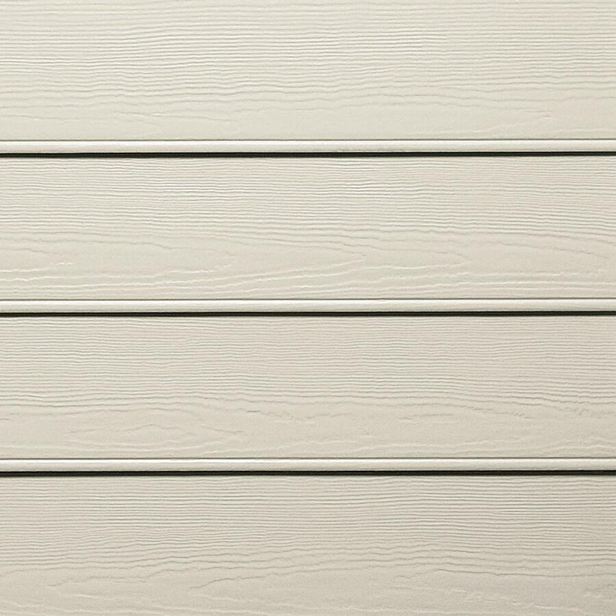 James Hardie HardiePlank Primed Cobble Stone Beaded Woodgrain Lap Fiber Cement Siding Panel (Actual: 0.312-in x 8.25-in x 144-in)