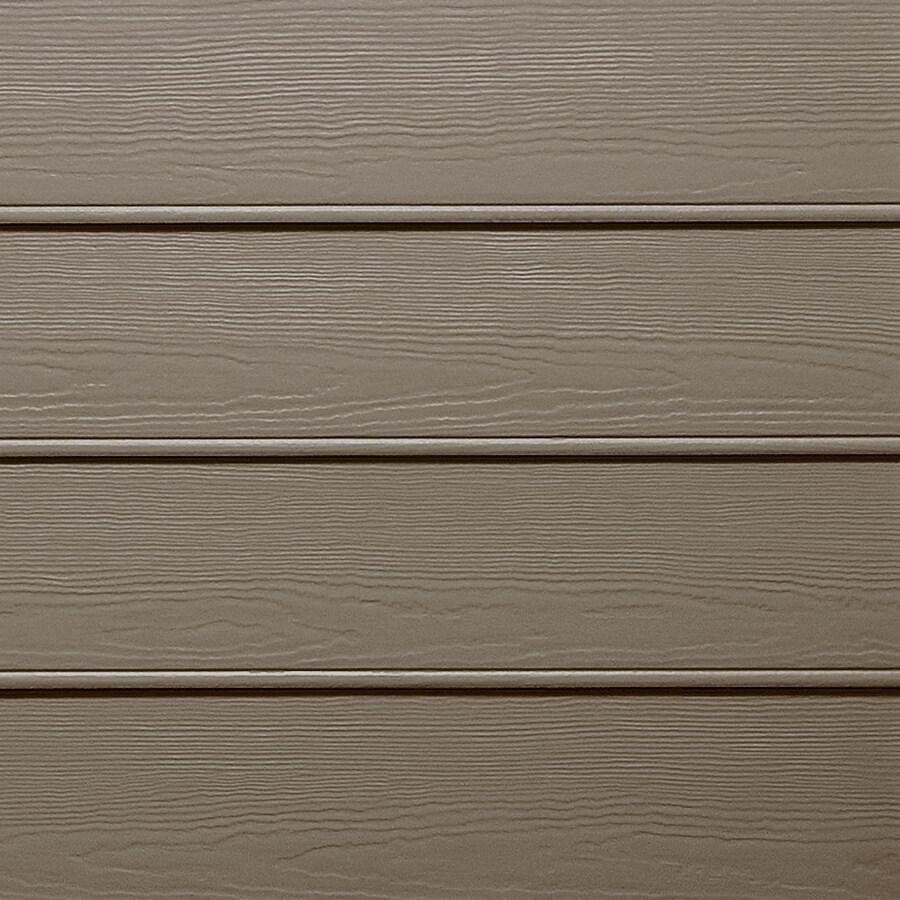 James Hardie HardiePlank Primed Timber Bark Beaded Woodgrain Lap Fiber Cement Siding Panel (Actual: 0.312-in x 8.25-in x 144-in)