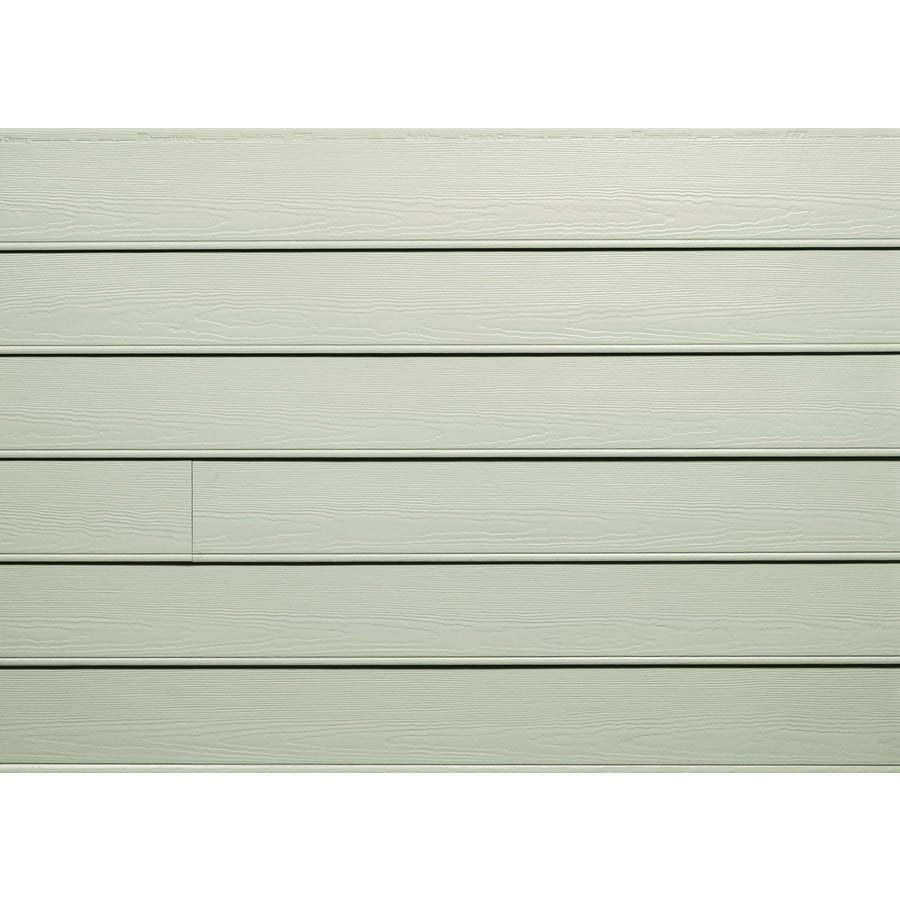 James Hardie Primed Soft Green Fiber Cement Siding Panel (Actual: 0.312-in x 8.25-in x 144-in)