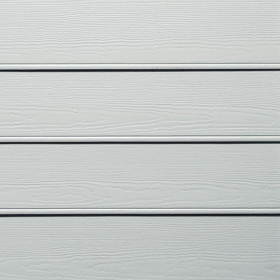 James Hardie HardiePlank Primed Light Mist Beaded Woodgrain Lap Fiber Cement Siding Panel (Actual: 0.312-in x 8.25-in x 144-in)