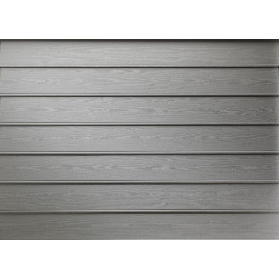 James Hardie Primed Boothbay Blue Fiber Cement Siding Panel (Actual: 0.312-in x 8.25-in x 144-in)