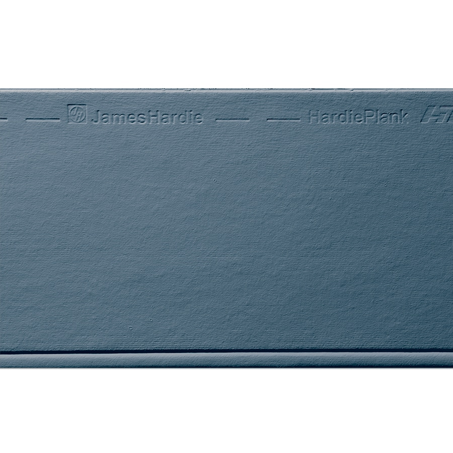 James Hardie HardiePlank Primed Evening Blue Beaded Smooth Lap Fiber Cement Siding Panel (Actual: 0.312-in x 8.25-in x 144-in)
