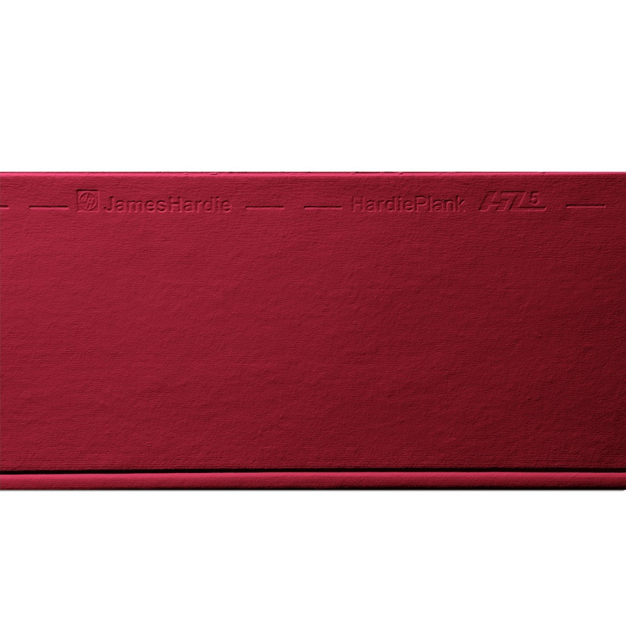 James Hardie Primed Traditional Red Fiber Cement Siding Panel (Actual: 0.312-in x 8.25-in x 144-in)