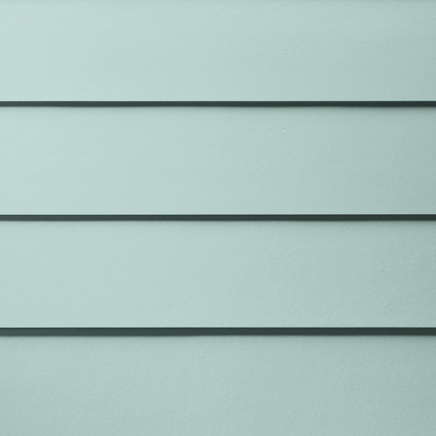 James Hardie HardiePlank Primed Aqua Marine Smooth Lap Fiber Cement Siding Panel (Actual: 0.312-in x 6.25-in x 144-in)