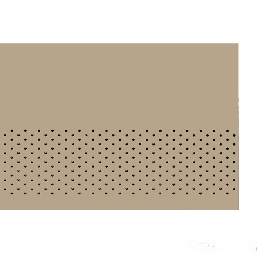 James Hardie HardieSoffit 24-in x 96-in Primed Fiber Cement Vented Soffit