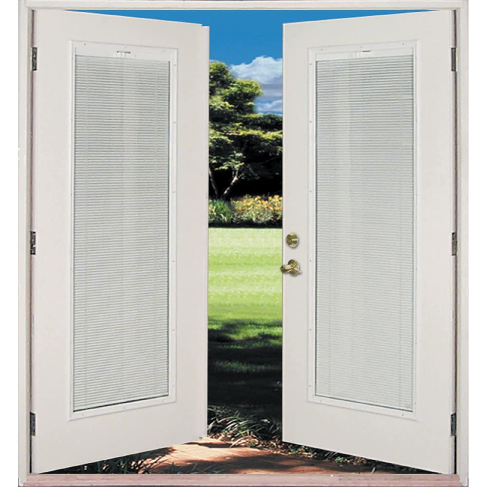 Reliabilt 6 French Patio Door Miami Dade County Approved Steel Blinds Between