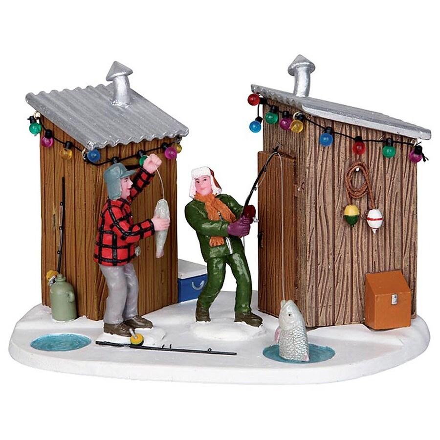 Carole Towne Resin Friendly Competition Christmas Collectible