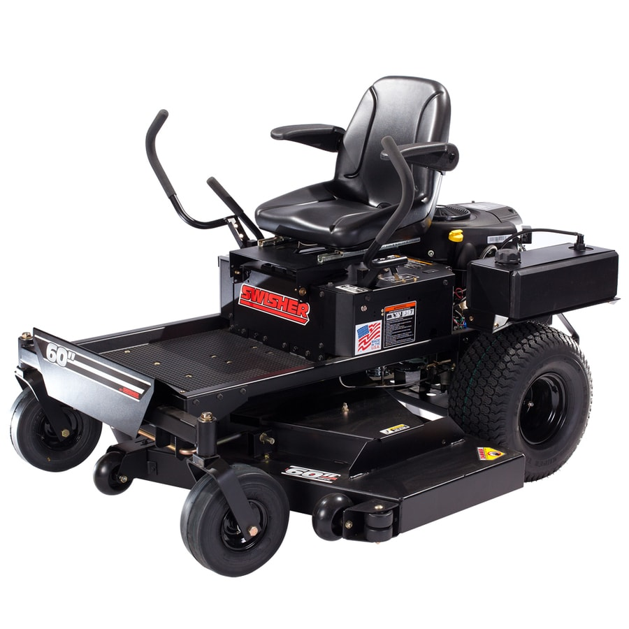 Swisher 27-HP V-Twin Dual Hydrostatic 60-in Zero-Turn Lawn Mower with Briggs & Stratton Engine