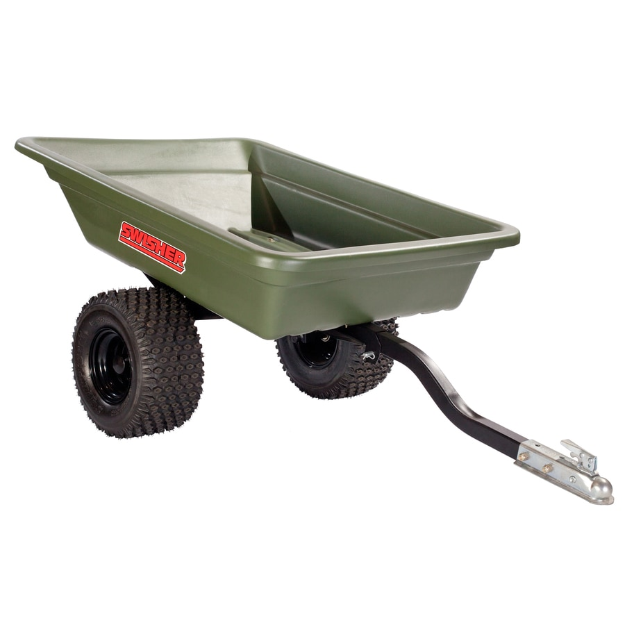 Shop Swisher 20-cu ft Plastic Dump Cart at Lowes.com