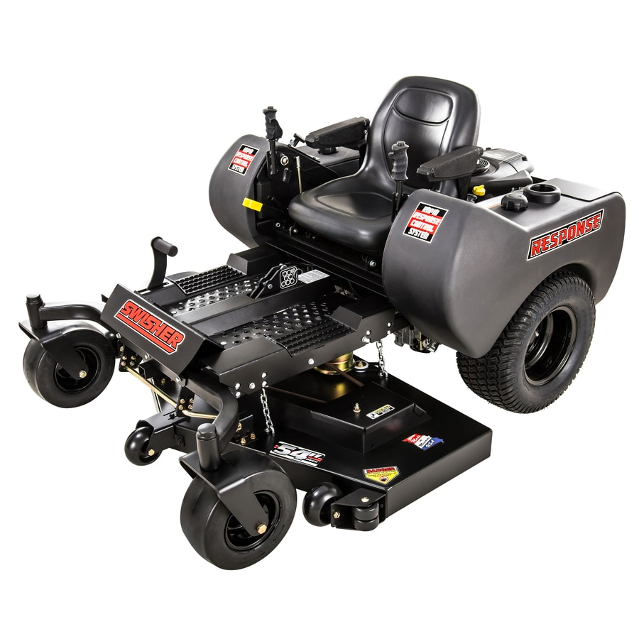 Swisher Response 24-HP V-Twin Dual Hydrostatic 54-in Zero-Turn Radius Lawn Mower