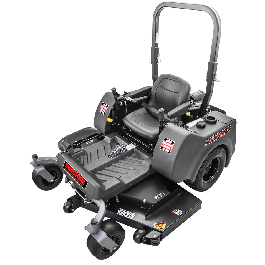 Swisher Response 27-HP V-Twin Dual Hydrostatic 60-in Zero-Turn Lawn Mower with Mulching Capability (CARB)