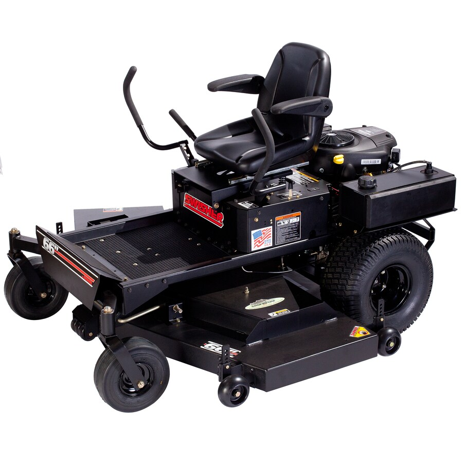 Swisher 28 HP V-Twin Dual Hydrostatic 66-in Zero-Turn Lawn Mower with Briggs & Stratton Engine (CARB)