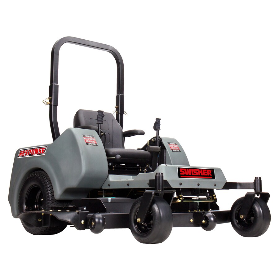 Swisher Response 24-HP V-Twin Dual Hydrostatic 60-in Zero-Turn Lawn Mower with Kawasaki Engine and Mulching Capability