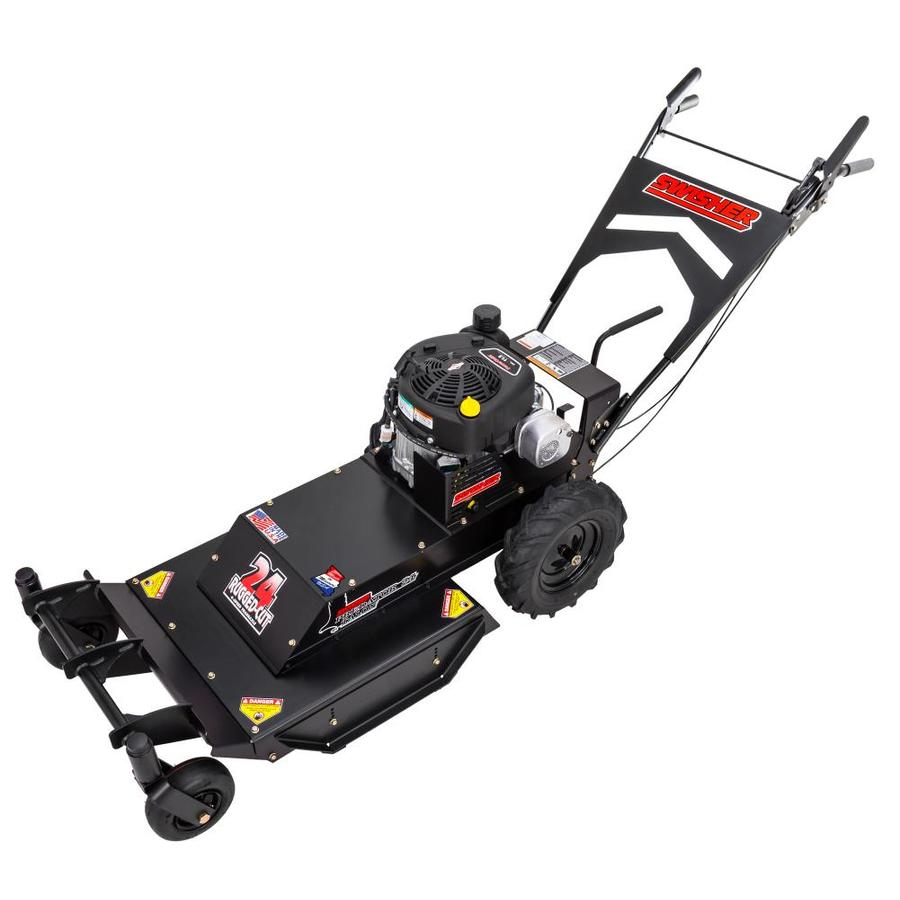 Swisher Predator Talon 344-cc 24-in Self-Propelled Rear Wheel Drive Front Discharge Gas Lawn Mower With