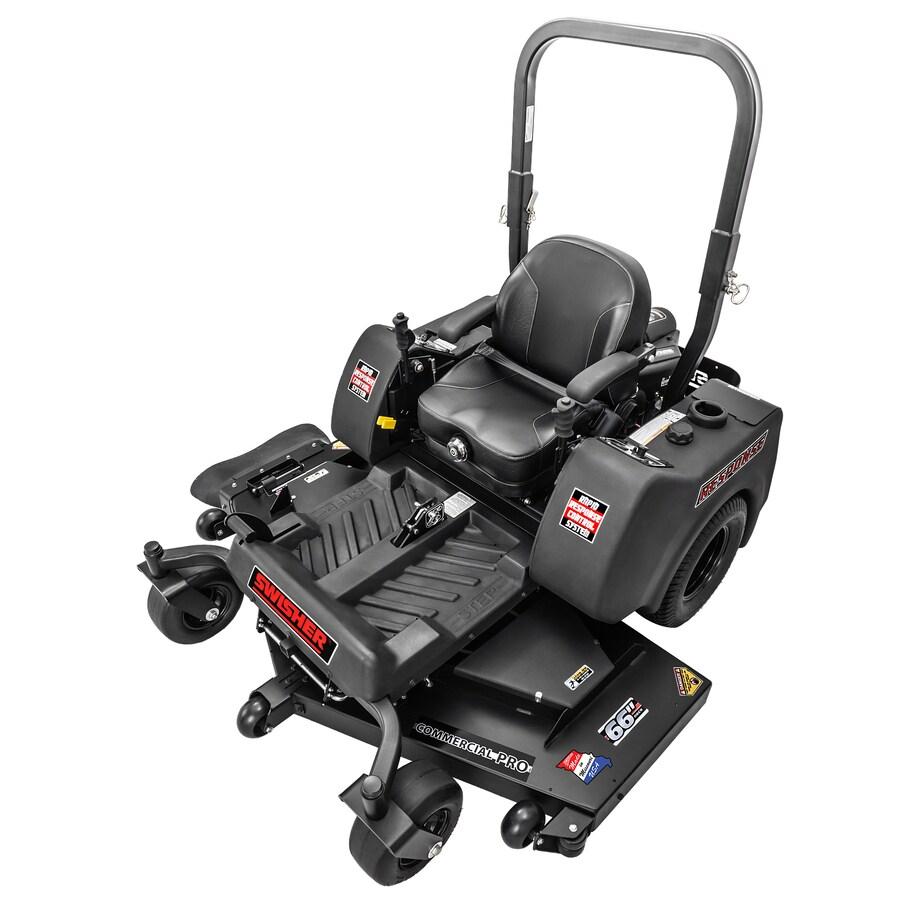 Swisher Response Pro 27-HP V-Twin Dual Hydrostatic 66-in Riding Lawn Mower
