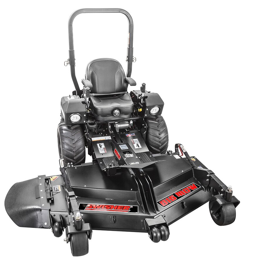 Swisher Big Mow 28-HP V-Twin Dual Hydrostatic 66-in Riding Lawn Mower