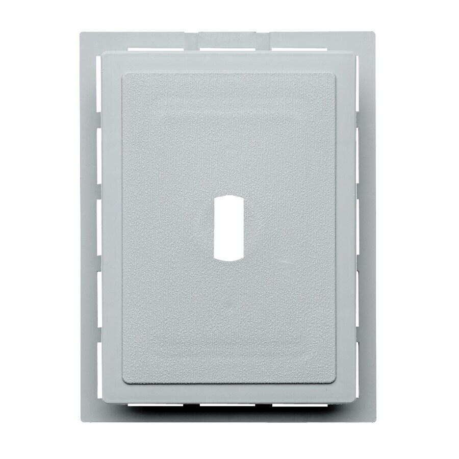 Durabuilt 6.875-in x 5.5-in Cape Blue/Pebble Vinyl Electrical Mounting Block