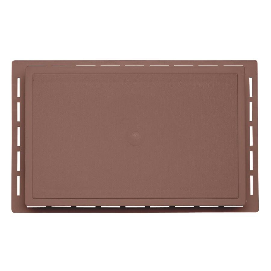 Durabuilt 1.625-in x 7.75-in Sedona Red Vinyl Universal Mounting Block